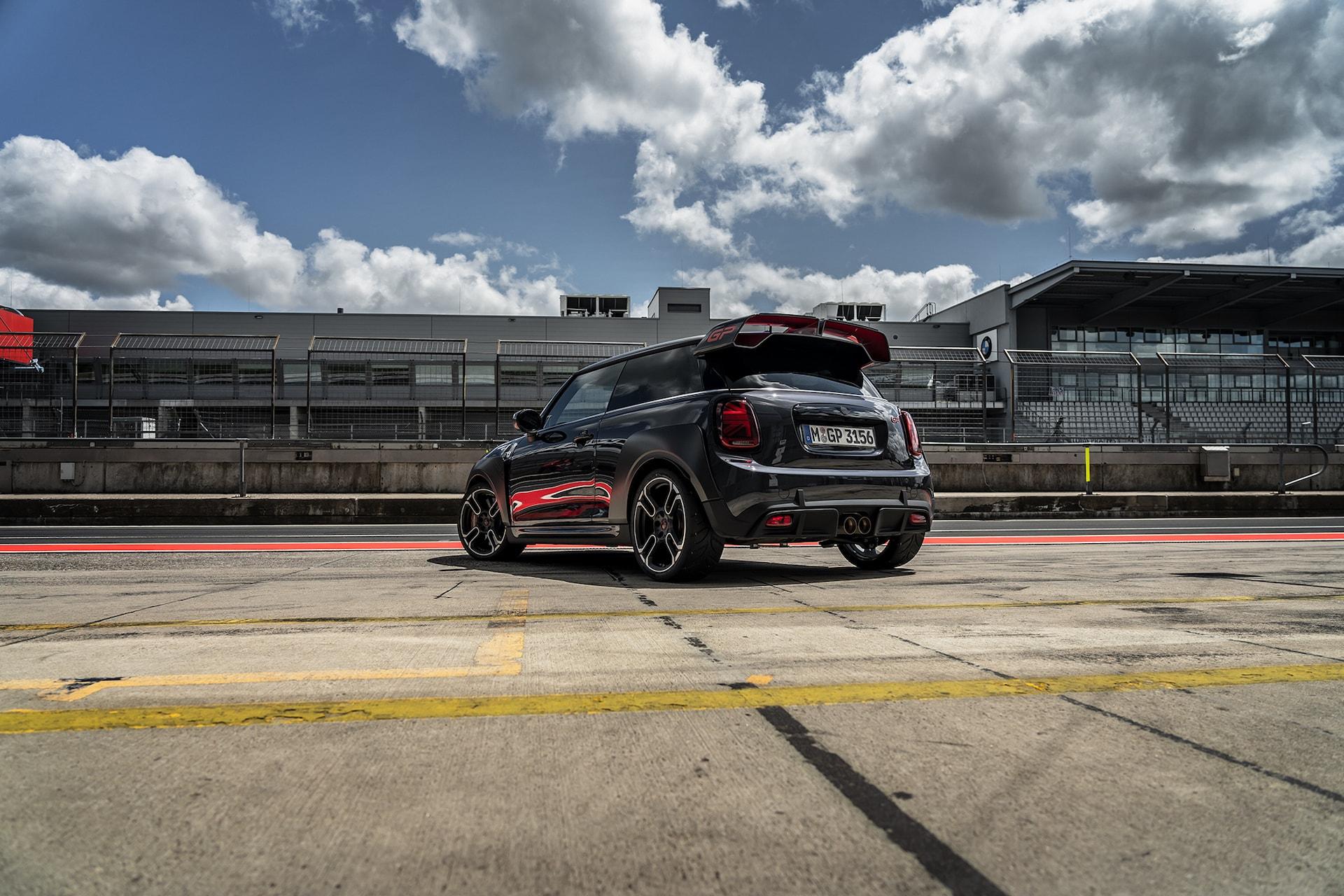 Der Stärkste unter den Kleinsten: Mit dem MINI Cooper Works GP auf dem Nürburgring 3