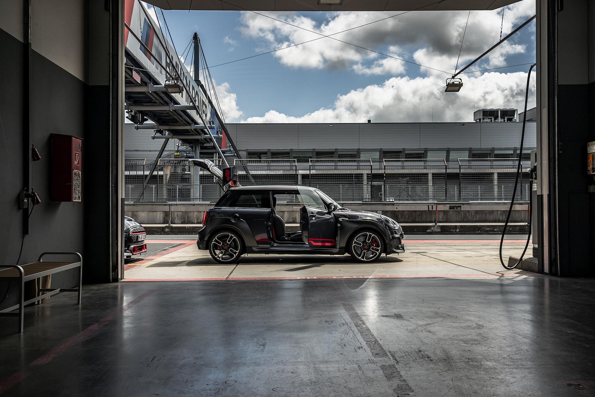 Der Stärkste unter den Kleinsten: Mit dem MINI Cooper Works GP auf dem Nürburgring 5