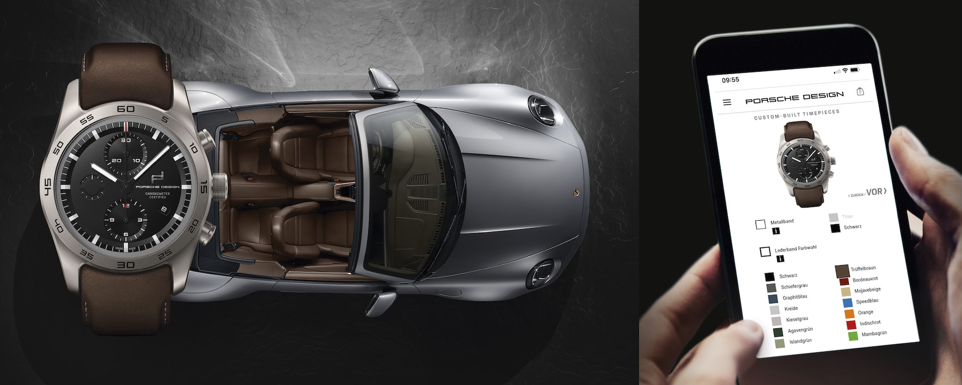 Porsche Design presents a unique Custom-Built Timepieces Program 6