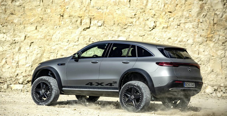 Elektrischer Luxus, Offroad: Der neue EQC 4×4² von Mercedes-Benz