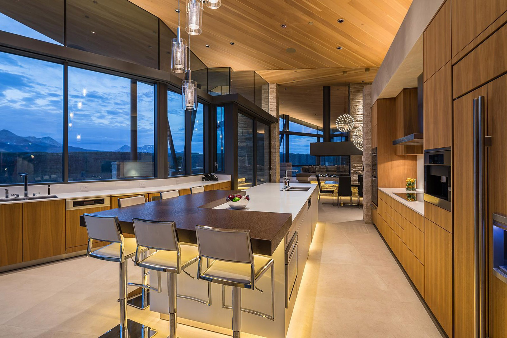 Das Sunset Ridge House in Colorado mit Blick auf die Rocky Mountains 6