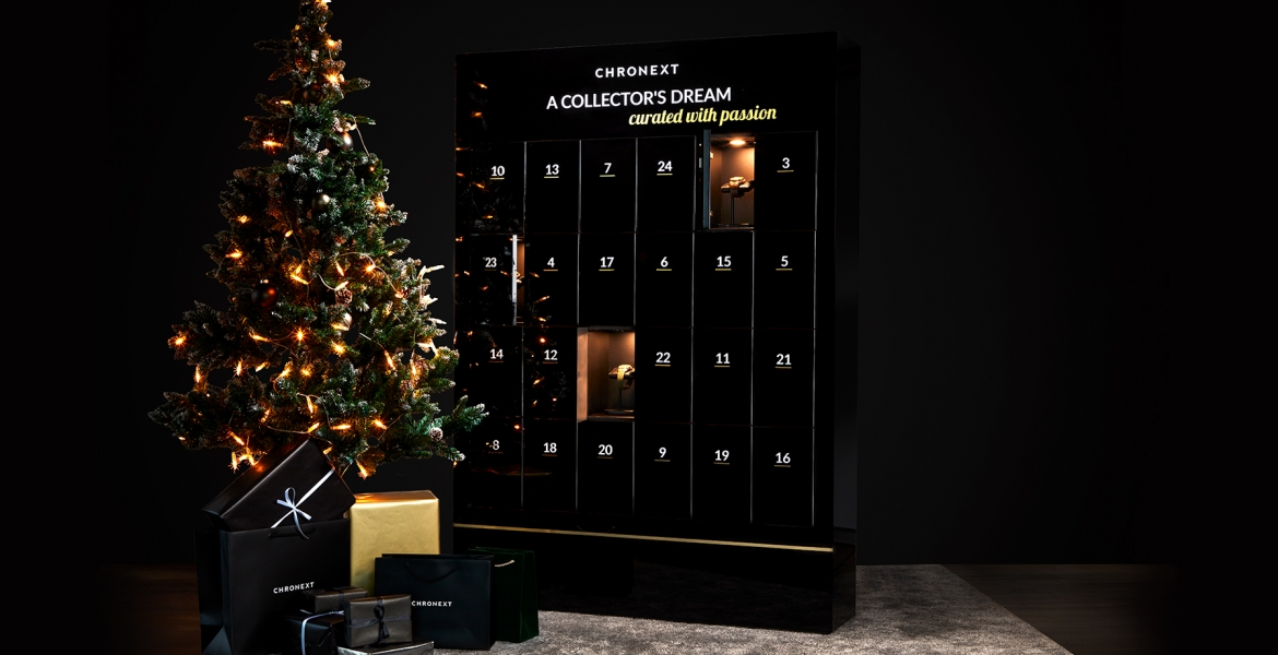 CHRONEXT presents the Ultimate Advent Calendar for Watch Collectors