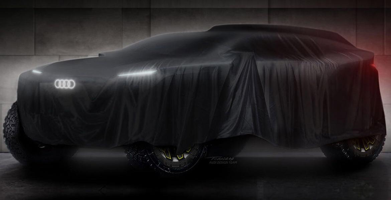 Audi teasert Prototypen für die Rallye Dakar 2022