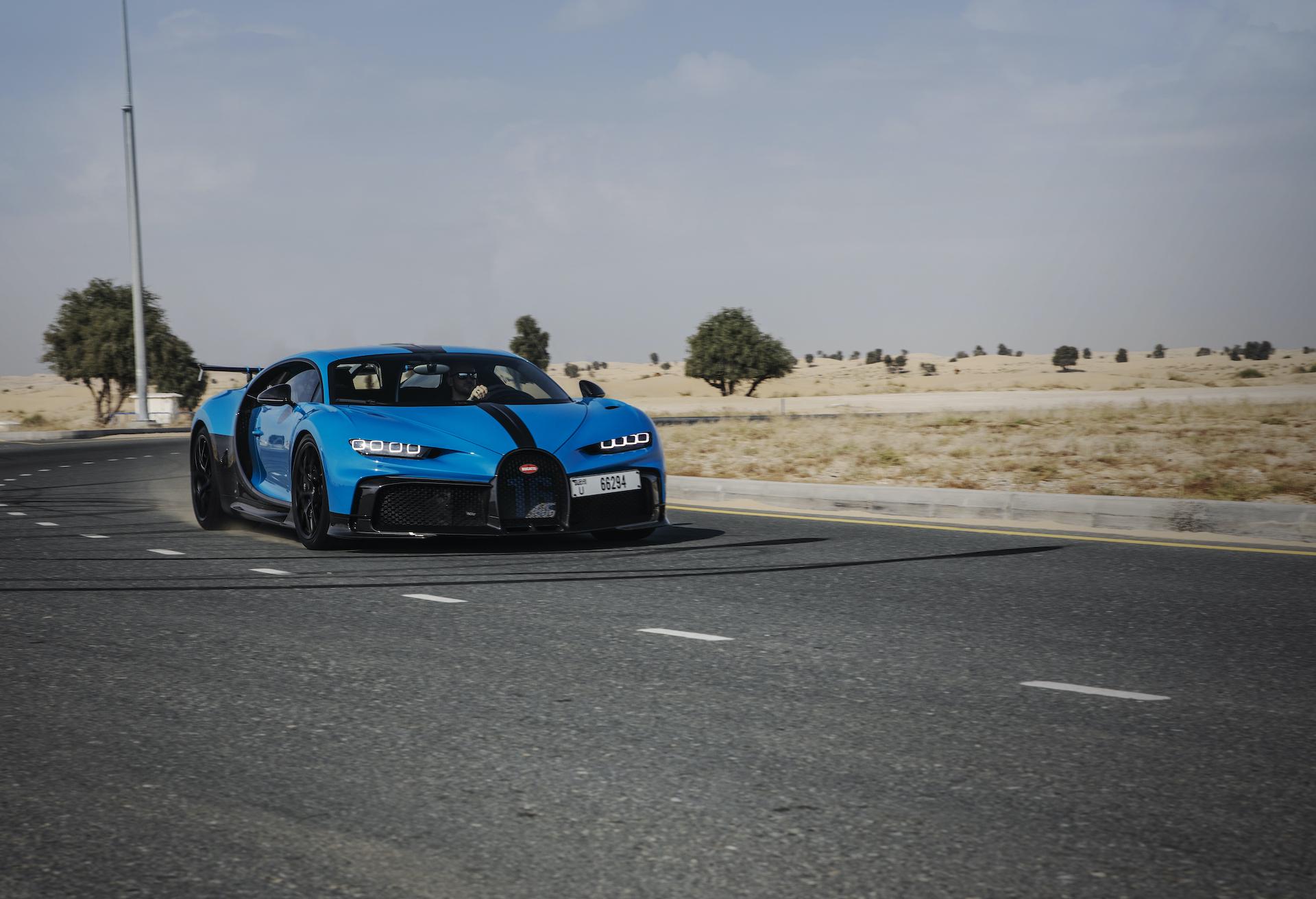 Der Bugatti Chiron Sport in Dubai: Extravaganz trifft Superlativ 1