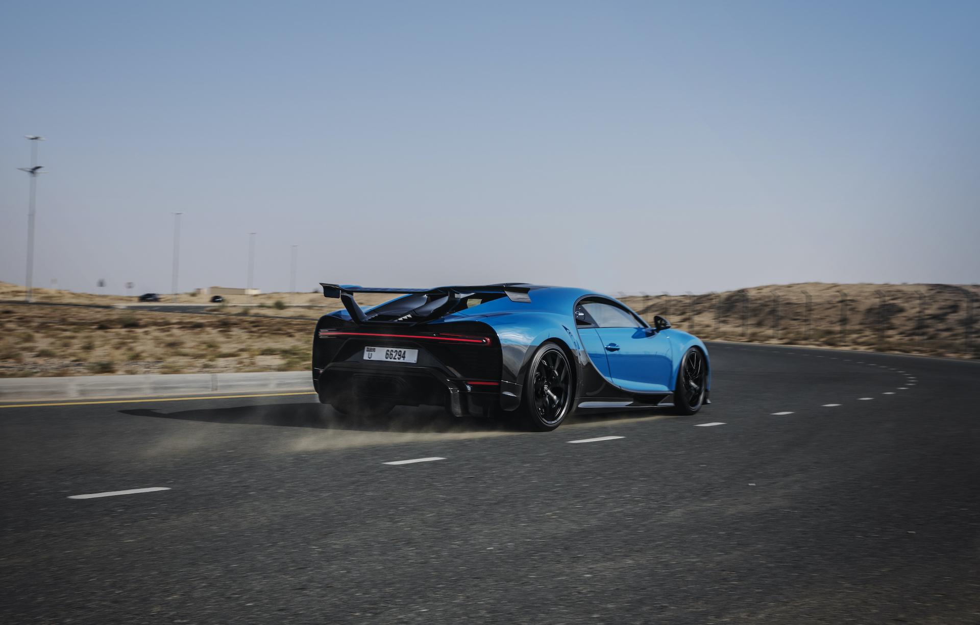 Der Bugatti Chiron Sport in Dubai: Extravaganz trifft Superlativ 2
