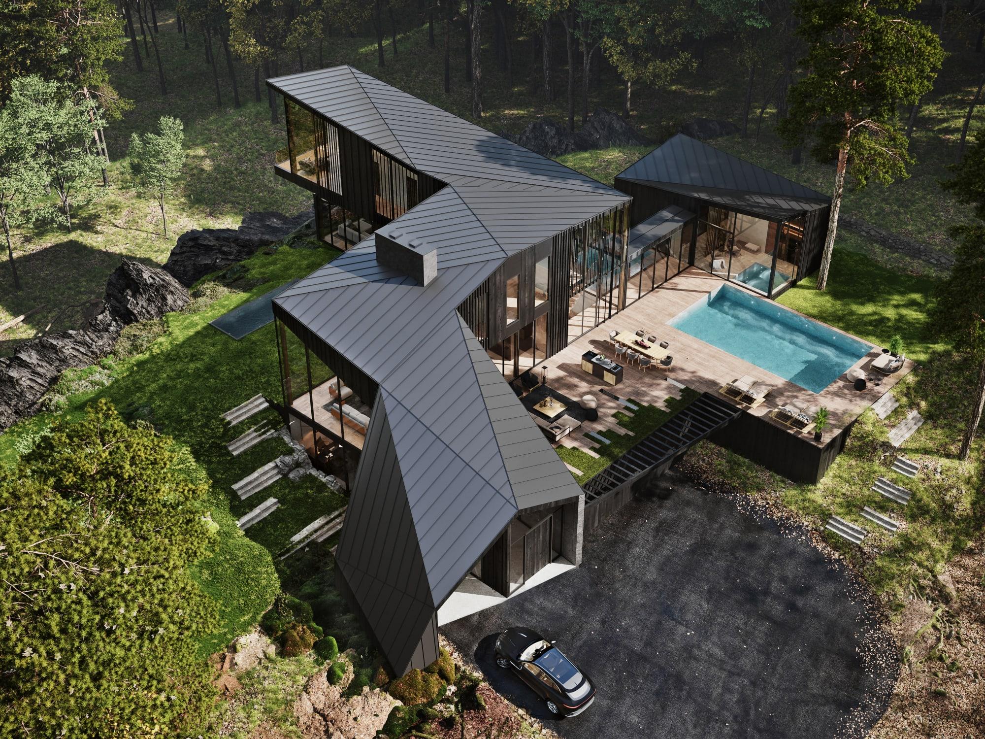 S3 Architectures und Aston Martin präsentieren ein Traumhaus im Bundesstaat New York 2