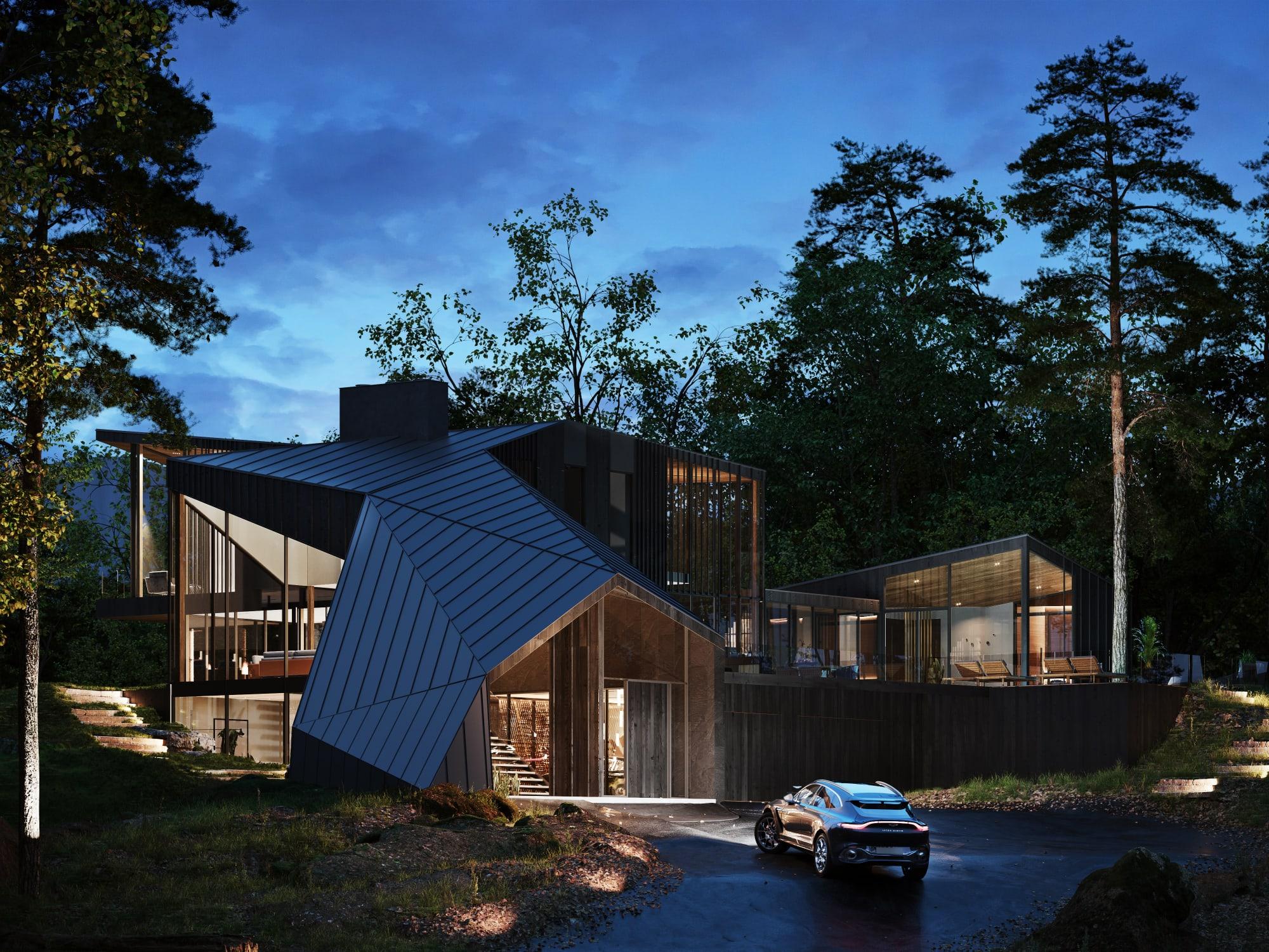 S3 Architectures und Aston Martin präsentieren ein Traumhaus im Bundesstaat New York 3