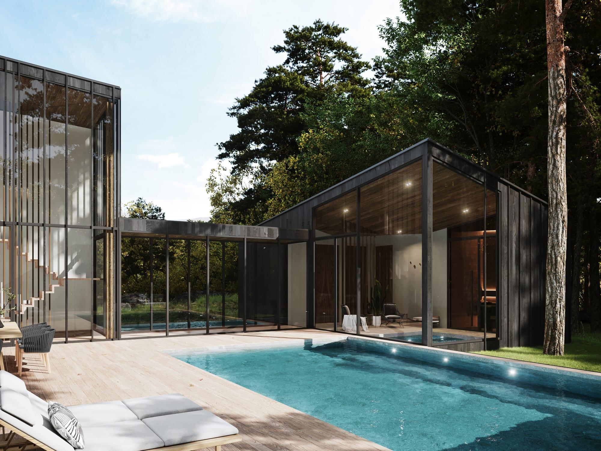 S3 Architectures und Aston Martin präsentieren ein Traumhaus im Bundesstaat New York 5