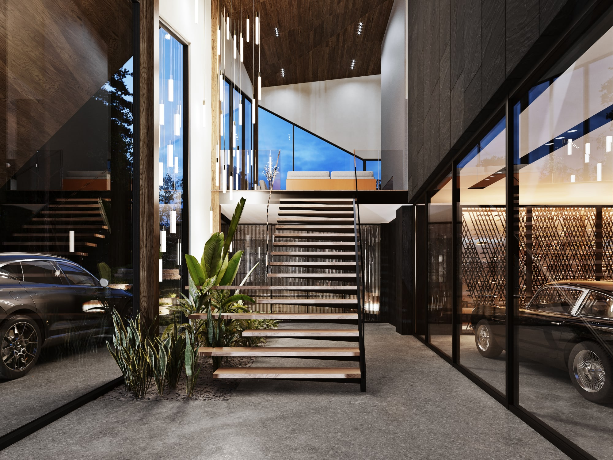 S3 Architectures und Aston Martin präsentieren ein Traumhaus im Bundesstaat New York 8