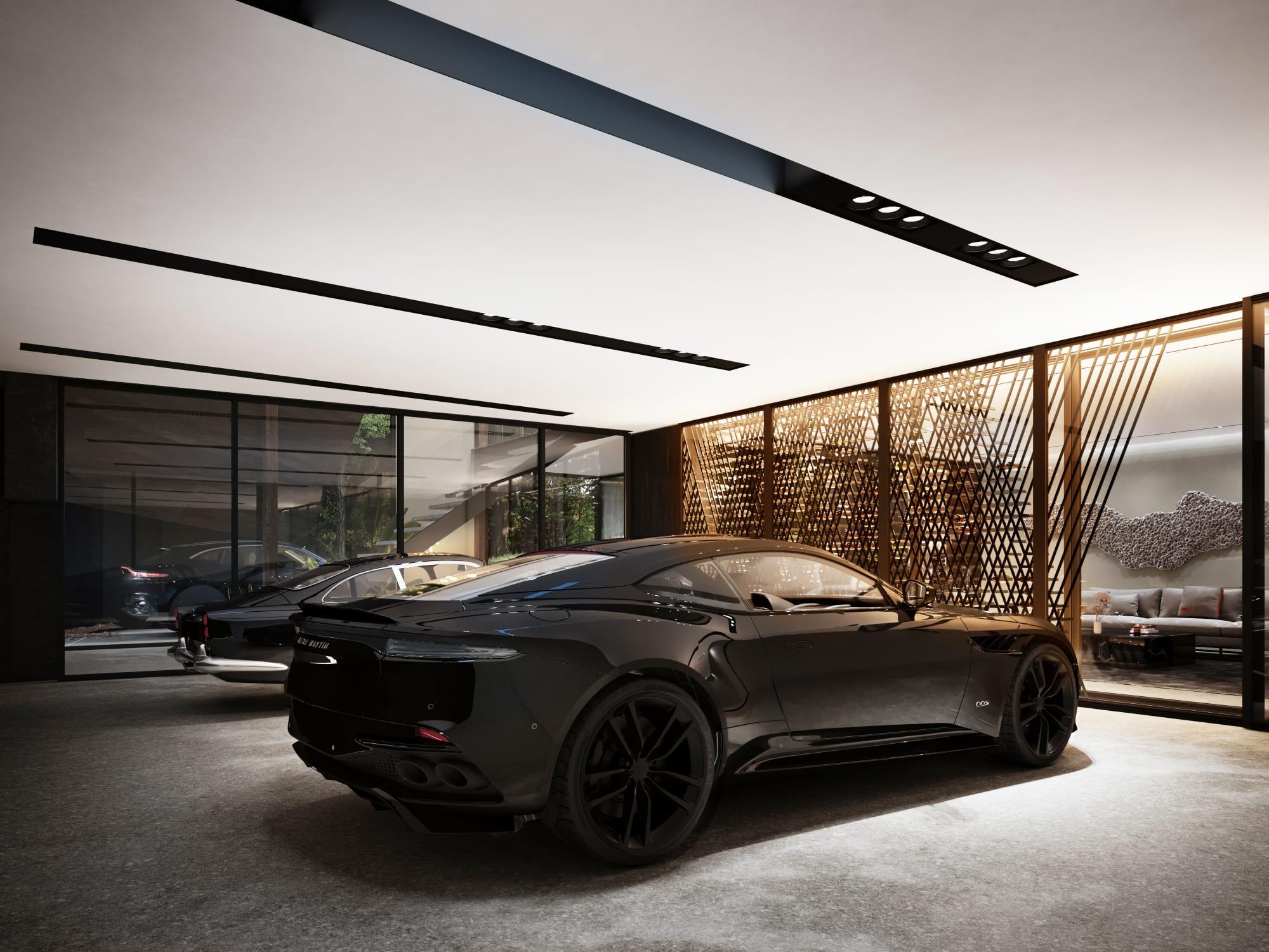 S3 Architectures und Aston Martin präsentieren ein Traumhaus im Bundesstaat New York 9