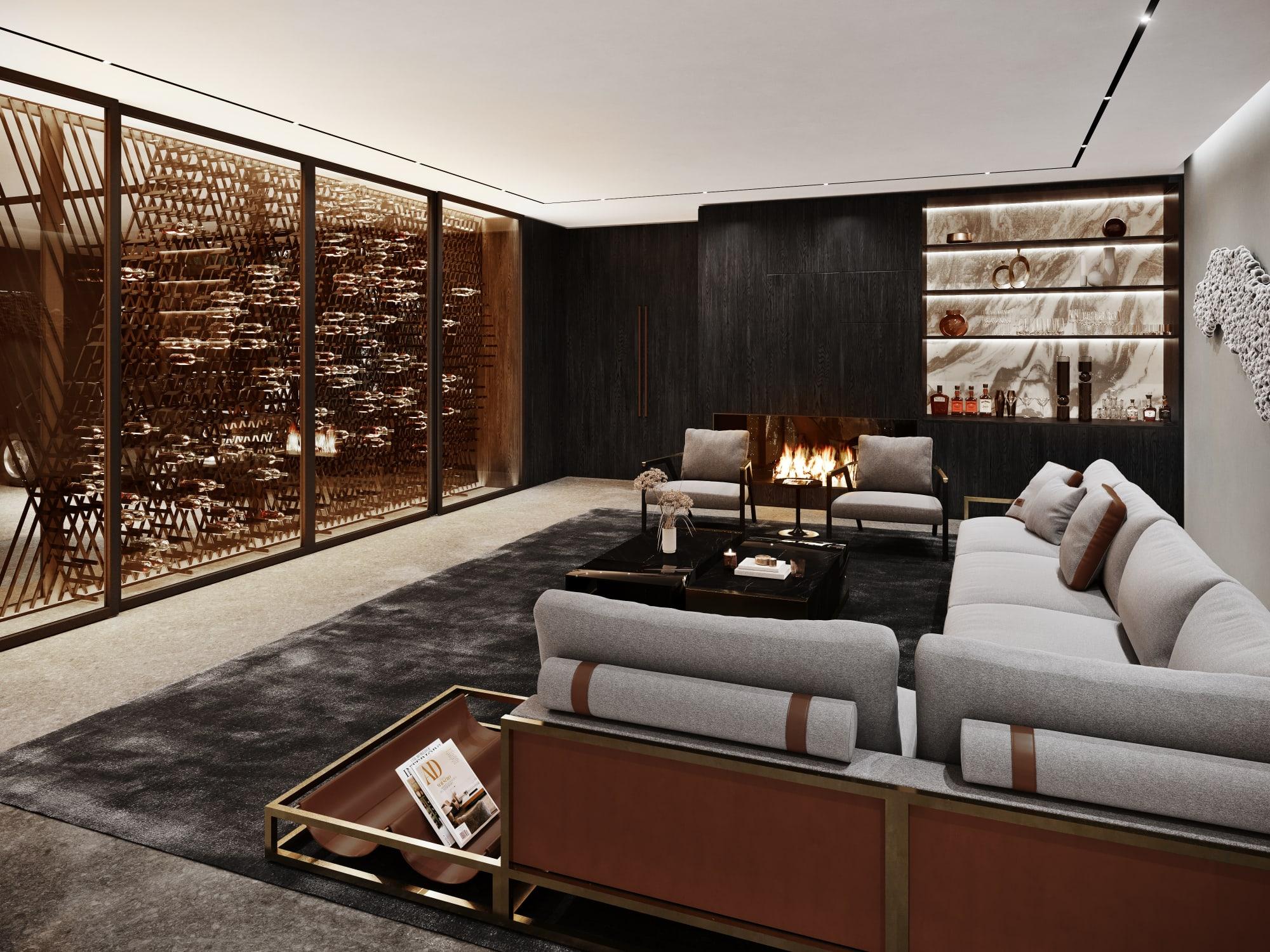 S3 Architectures und Aston Martin präsentieren ein Traumhaus im Bundesstaat New York 10