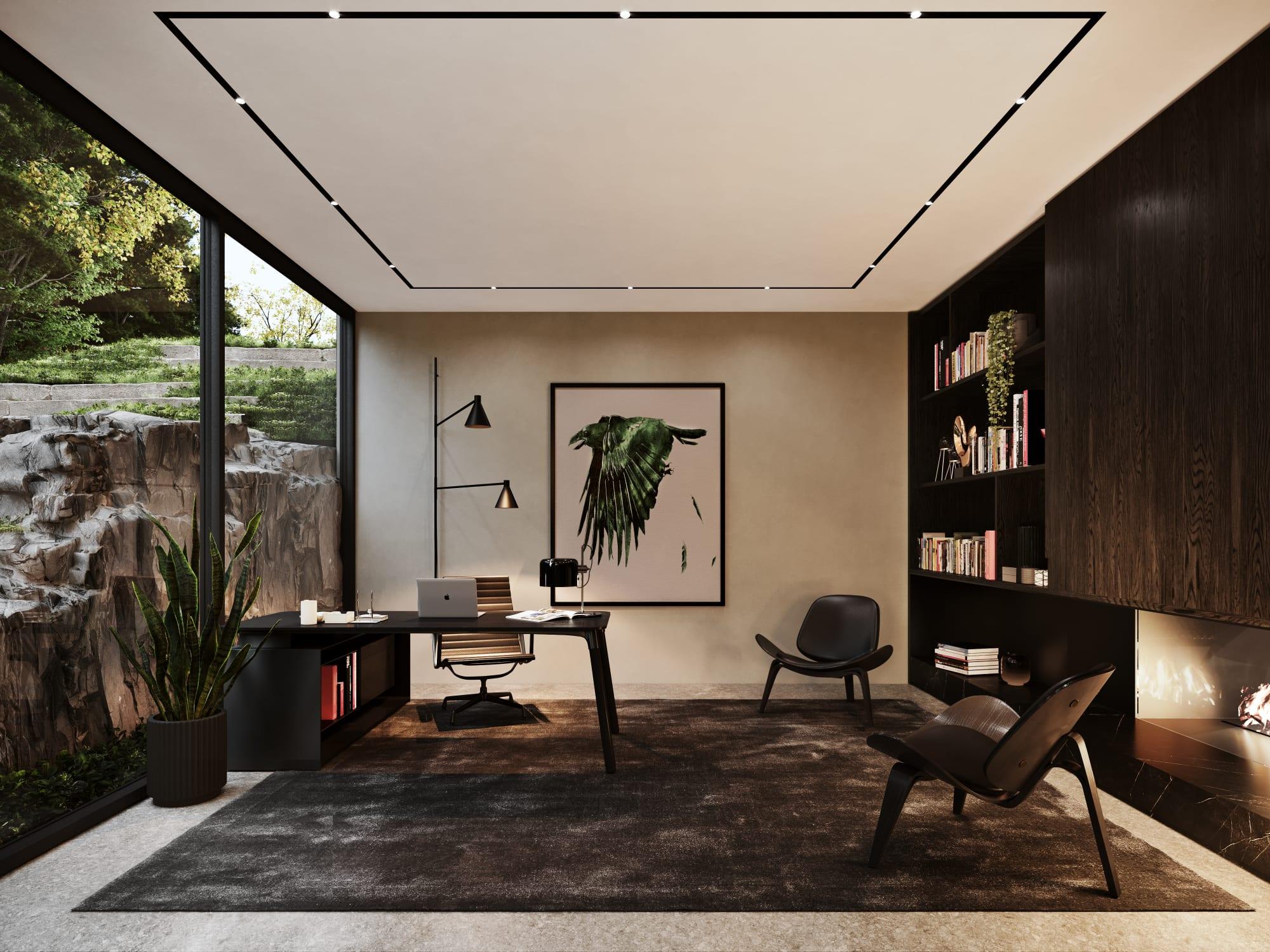 S3 Architectures und Aston Martin präsentieren ein Traumhaus im Bundesstaat New York 11