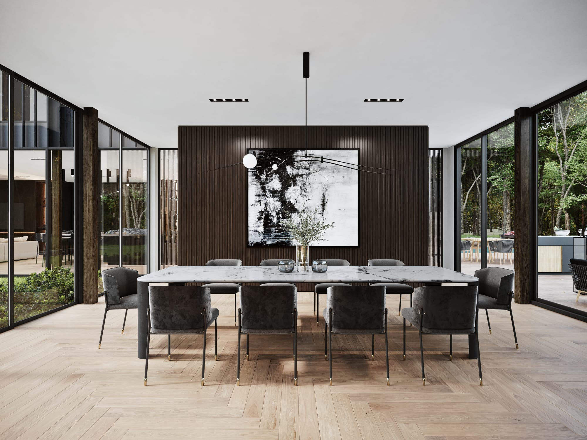 S3 Architectures und Aston Martin präsentieren ein Traumhaus im Bundesstaat New York 13