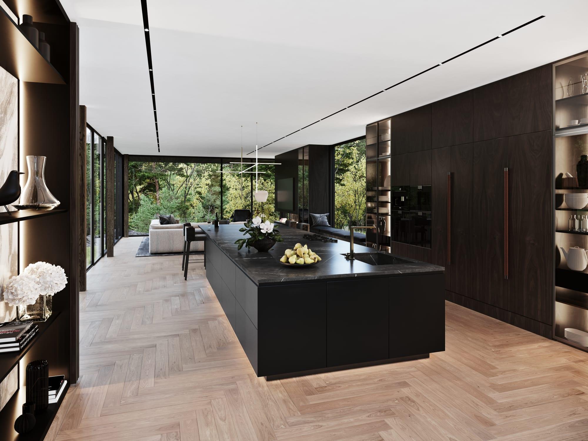 S3 Architectures und Aston Martin präsentieren ein Traumhaus im Bundesstaat New York 14