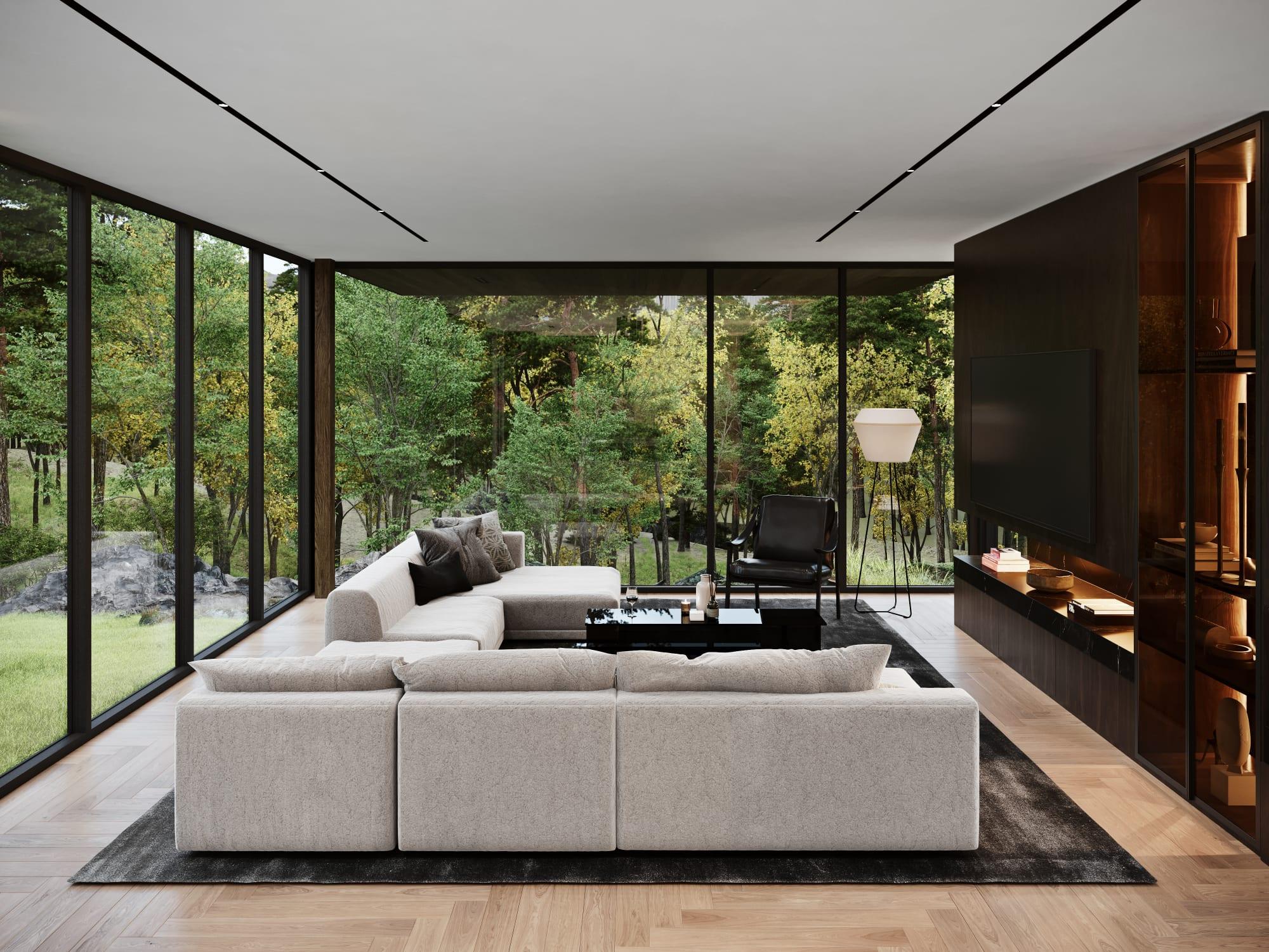 S3 Architectures und Aston Martin präsentieren ein Traumhaus im Bundesstaat New York 15