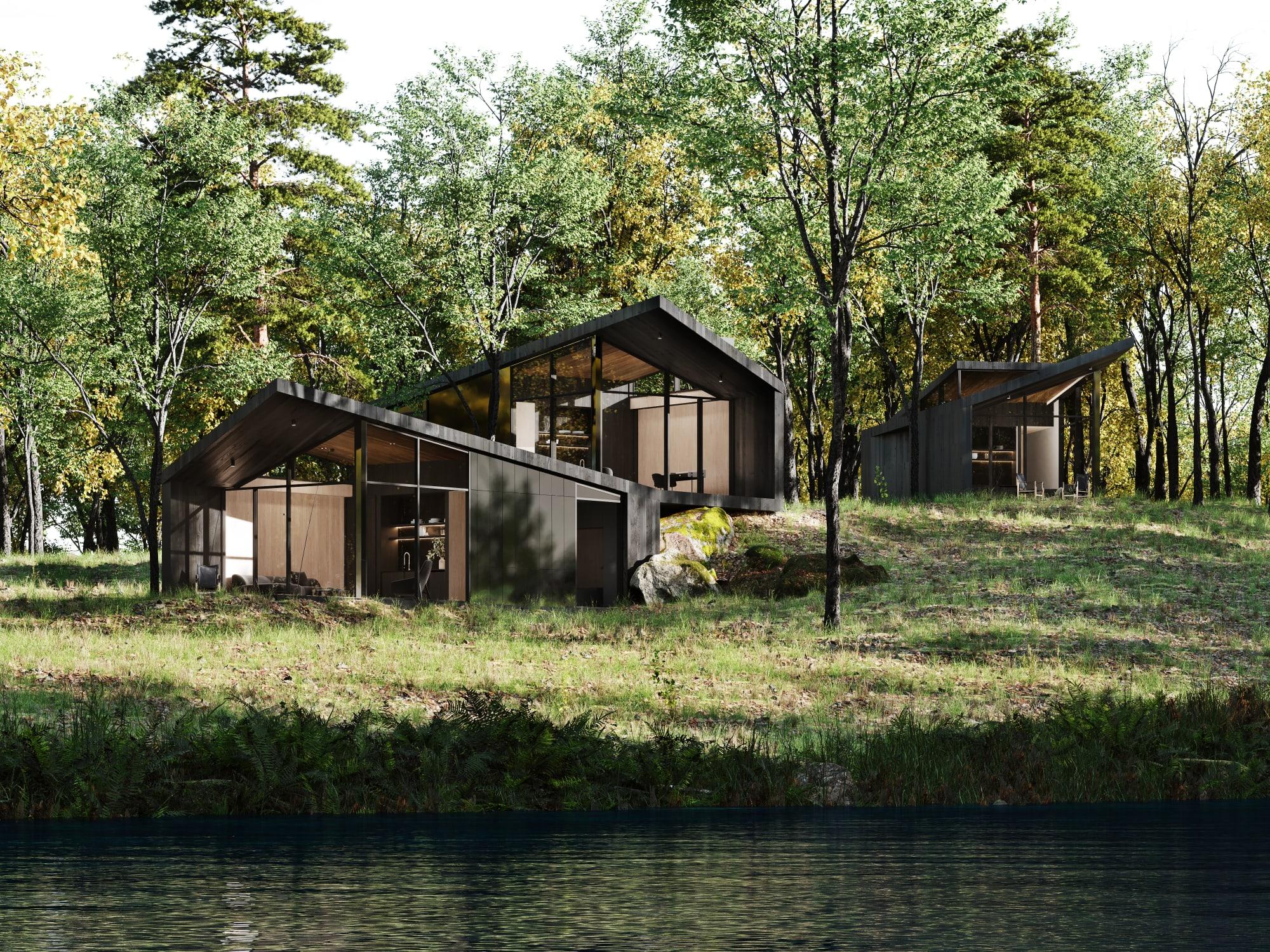 S3 Architectures und Aston Martin präsentieren ein Traumhaus im Bundesstaat New York 19