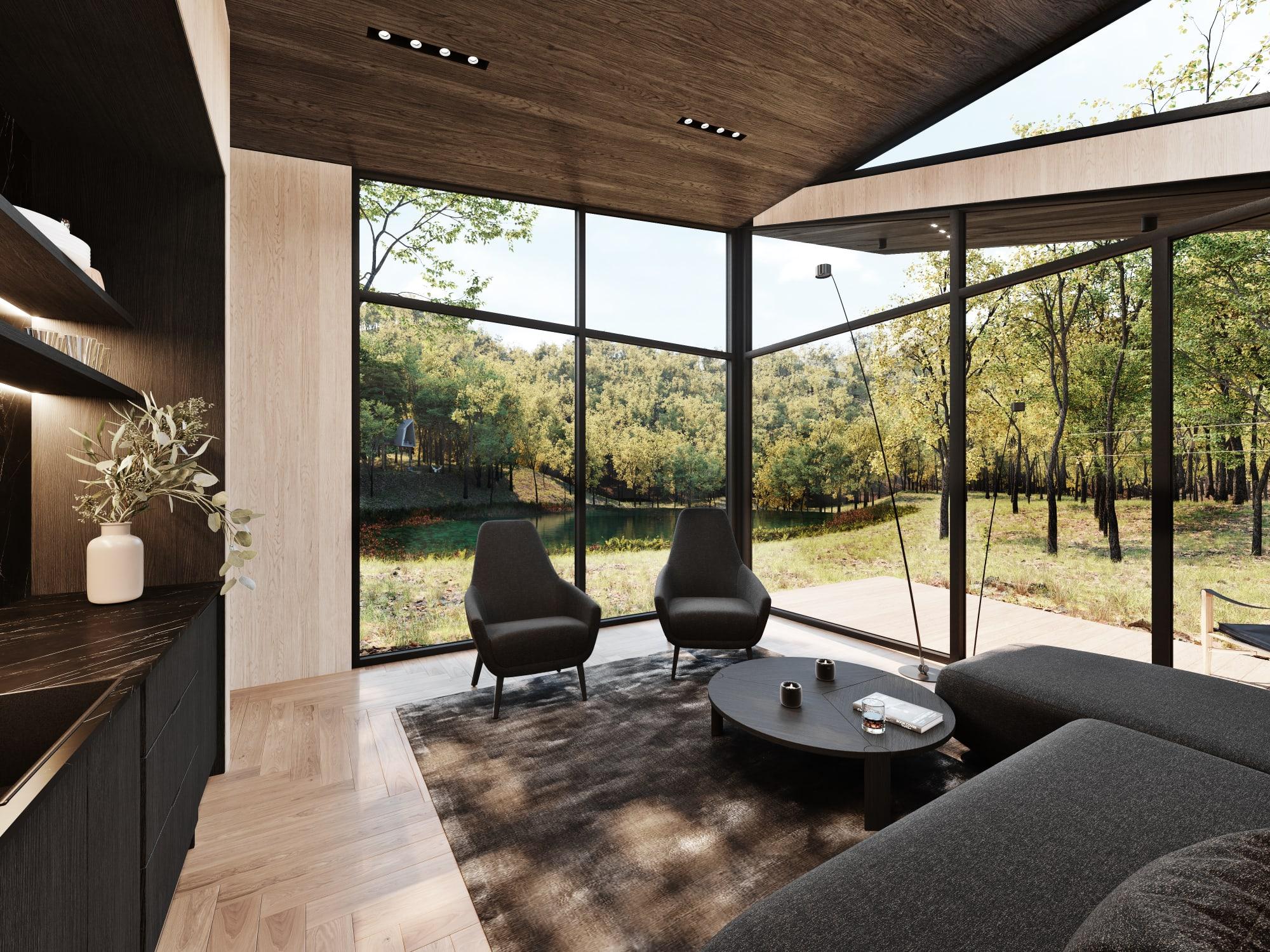 S3 Architectures und Aston Martin präsentieren ein Traumhaus im Bundesstaat New York 20
